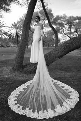 שמלת כלה עם של ארוך