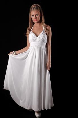 שמלת כלה קולר וכיווצים