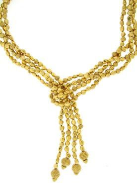 מחרוזת מצופה זהב