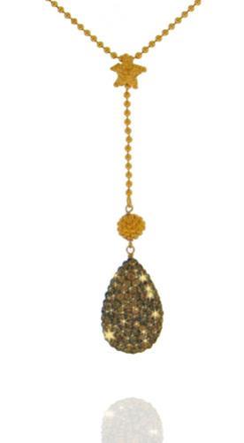שרשרת עם ציפוי זהב ותליון