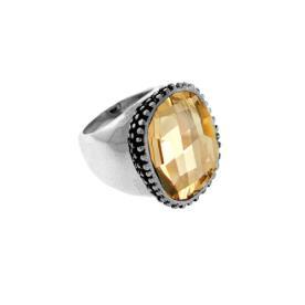 טבעת חותם רחבה