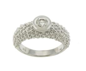 טבעת אירוסין עם עיגולים