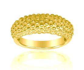 טבעת נישואין עם עיגולים