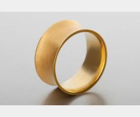 טבעת נישואין חלקה לכלה