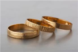 טבעות נישואין מעוצבות לגבר
