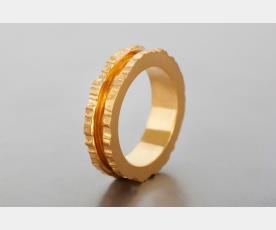 טבעת נישואין לכלה בעיצוב ייחודי
