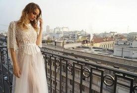 שמלת כלה מיוחדת בשני חלקים
