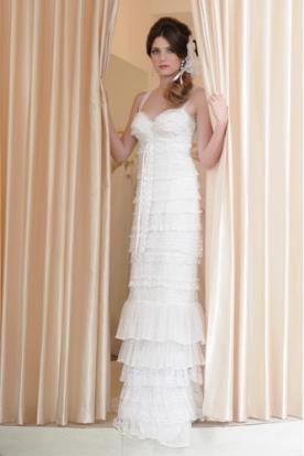 שמלת כלה קומות תחרה וינטג'