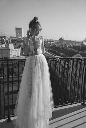 שמלת כלה חצאית טול