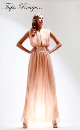 שמלת ערב אפרקס בסגנון יווני