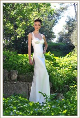 שמלת כלה נועזת סגנון קלאסי