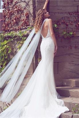 שמלות כלה בגזרה גבוהה