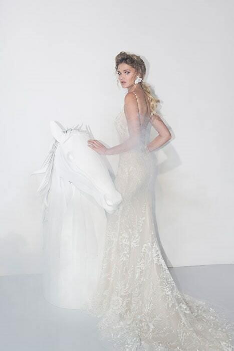 שמלת כלה בלי שרוולים - יניב פרסי - Yaniv Persy