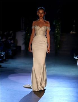 שמלת כלה בעיצוב של יניב פרסי