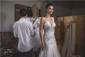 שמלה כלה בתפירה עילית