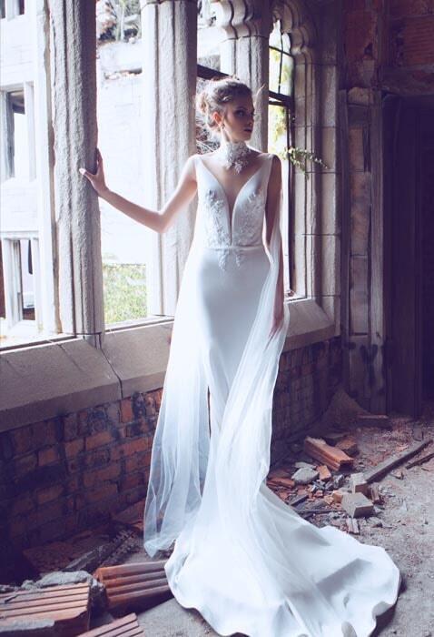 שמלת ערב פעמון