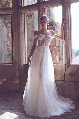 שמלת כלה עם שני חלקים
