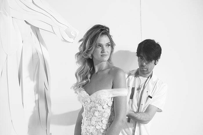 שמלת כלה של המעצב יניב פרסי - Yaniv Persy