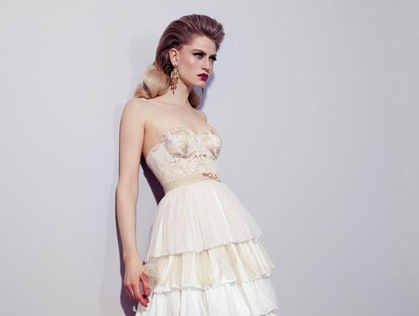 שמלת כלה למראה סקסי מעודן