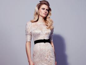 שמלת כלה מיוחדת עם חגורה
