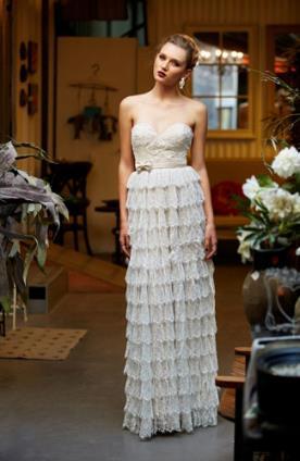 שמלת הוט קוטור רומנטית לכלה