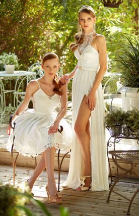 שמלות כלה רומנטיות לקיץ