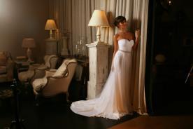 שמלת כלה קלאסית למראה אידיאלי