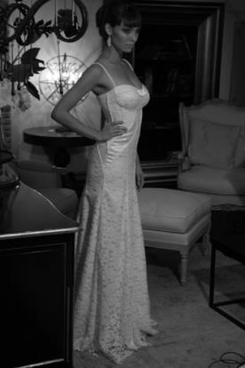שמלת כלה עדינה למראה אידיאלי