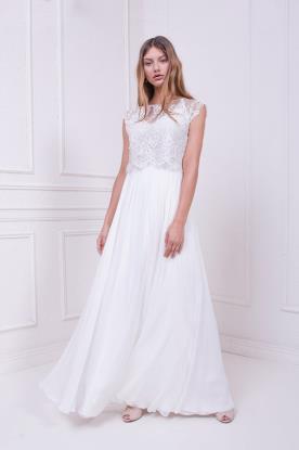 שמלת כלה צנועה ורומנטית
