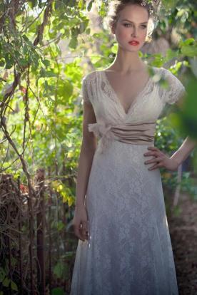 שמלת כלה אלגנטית למראה יוקרתי