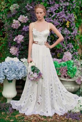 יואב ריש - שמלת כלה במראה קלאסי