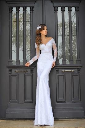 שמלת כלה אוף שולדר נסיכותית