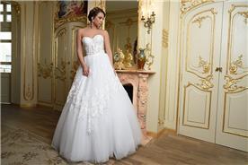 שמלת כלה עדינה בעיצוב מרשים