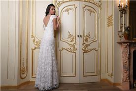 שמלת כלה צמודה וארוכה