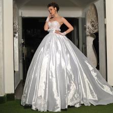 שמלת כלה נסיכתית קלאסית
