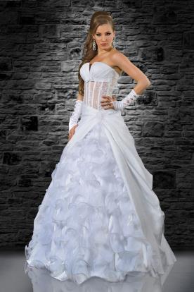 שמלת כלה קצפת