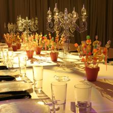 עיצוב שולחן סוכריות