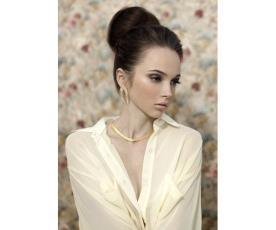 איפור ועיצוב שיער קלאסי לכלה