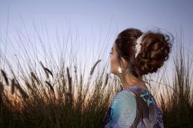 עיצוב שיער מודרני לערב