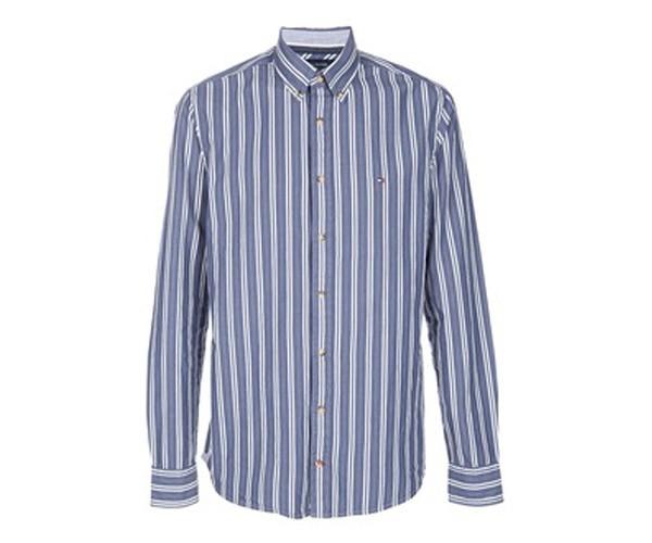 חולצת פסים בגווני כחול