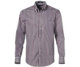 חולצת מעוטרת פסים עדינים