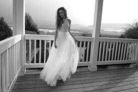 שמלת קולר עם חצאית טול