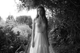 שמלת כלה בשני חלקים בסגנון בוהו שיק