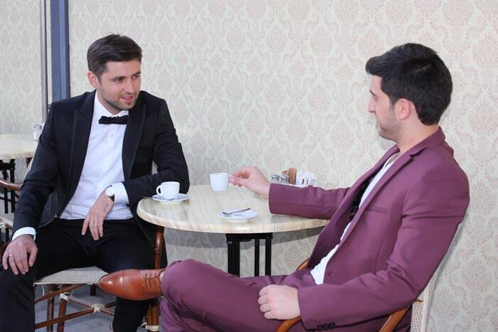 חליפת חתן: קולקציית 2019, חליפת שני חלקים, חליפת שלושה חלקים, חליפה בגזרה ישרה, חליפה בדוגמה חלקה, חליפה בצבע שחור, חליפה בצבע סגול - בוקה