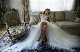 שמלת כלה עם חצאית ניוד
