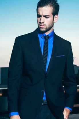 חליפת חתן- בלייזר עם כיס צידי מודגש