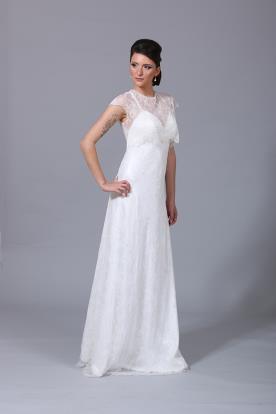 שמלת כלה קלאסית וחולצת תחרה