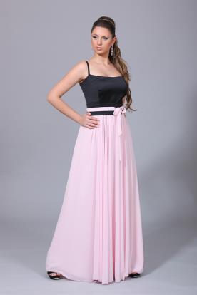 שמלת ערב חגורת פפיון