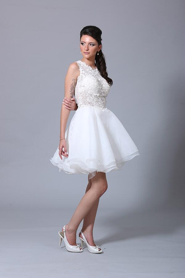שמלת כלה קצרה