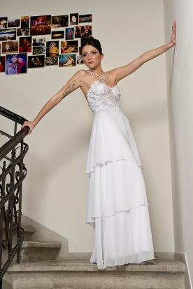 שמלת כלה סטרפלס עשיר